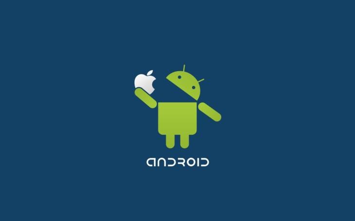 Le téléchargement d'applications mensuel sur Google Play dépasse celles de l'iOS de 500 millions