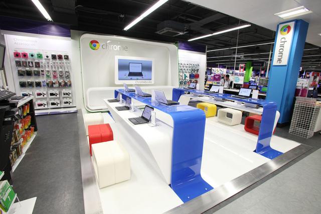 """Wall Street Journal : Google """"prévoit"""" d'implanter des points de vente aux États-Unis"""