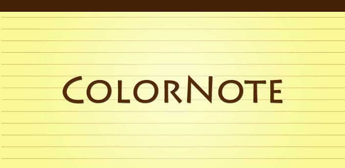Avec Colornote Notepad, prenez des notes et affichez les sur votre fond d'écran.