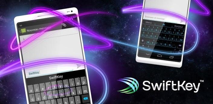 Sortie de Swiftkey 4 : le meilleur clavier sous Android