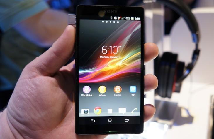 L'Xperia ZL de Sony débarque aux Etats Unis