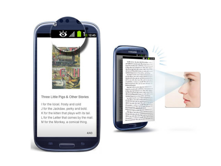 Le Samsung Galaxy S4 et sa nouvelle technologie Eye-tracking