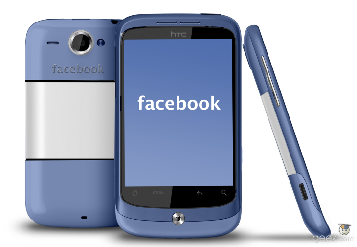 HTC sort un nouveau smartphone Facebook
