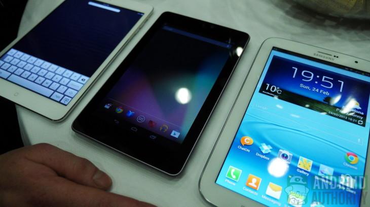 Lancement du Galaxy Note 8 et de l'Asus FonePad prévu pour avril