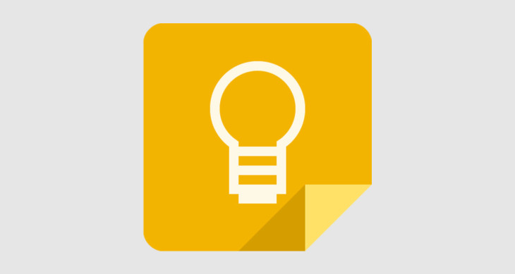 Google Keep laisse songeur