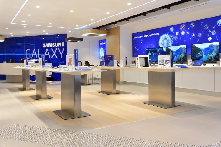 Samsung s'inspire d'Apple en proposant des mini boutiques dans Best-Buy