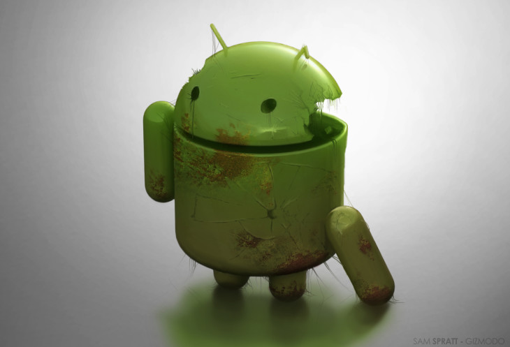 Bilan 2012 – 79 % des malwares mobile viennent d'Android