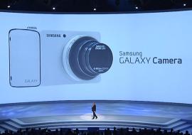 L'Appareil Photo Samsung Galaxy modèle WiFi arrive sur le marché pour 449 $