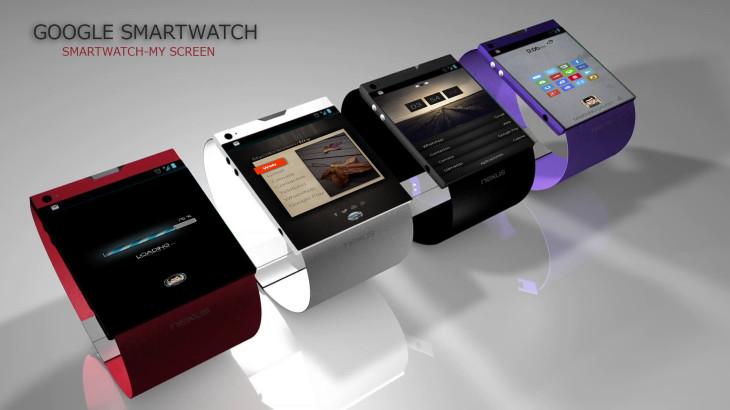 Le concept Smartwatch du Google Nexus nous fait rêver du futur