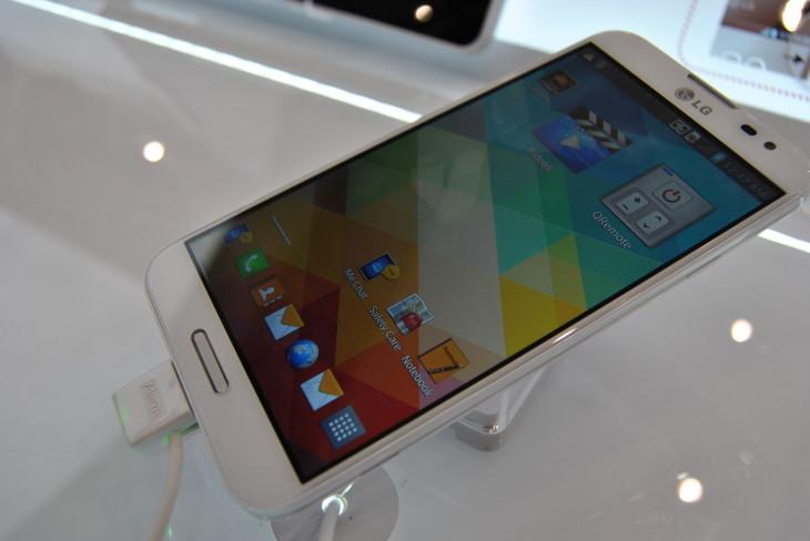 Le LG Optimus G Pro a atteint les 500 000 ventes en 40 jours