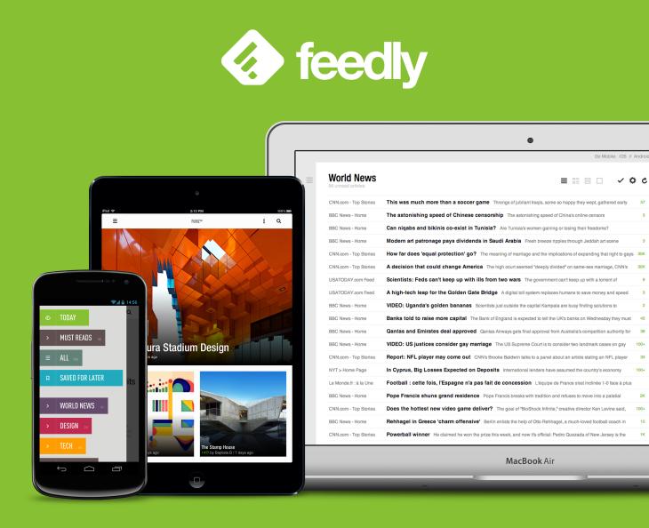 Feedly : Mise à jour  version 14, Célébration de 3 millions de nouveaux utilisateurs, grâce à Google Reader