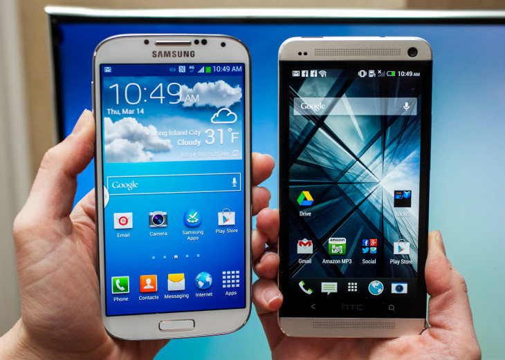 Facebook Home pour l'HTC One et le Galaxy S4 débarque.