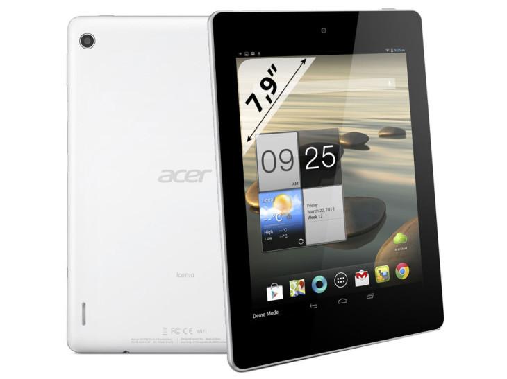 Acer Iconia A1: un appareil 8 pouces à moitié prix de l'iPad Mini.