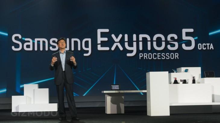 Un Samsung Galaxy Note II avec un processeur Snapdragon 600