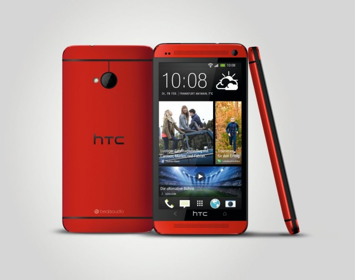 Qui a dit que la couleur ne faisait pas de différence ? Le HTC One en rouge est sublime !