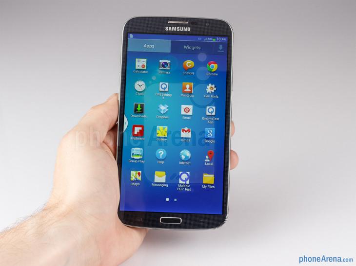Une fuite sur un Samsung Galaxy Mega 6.3 avec une double SIM