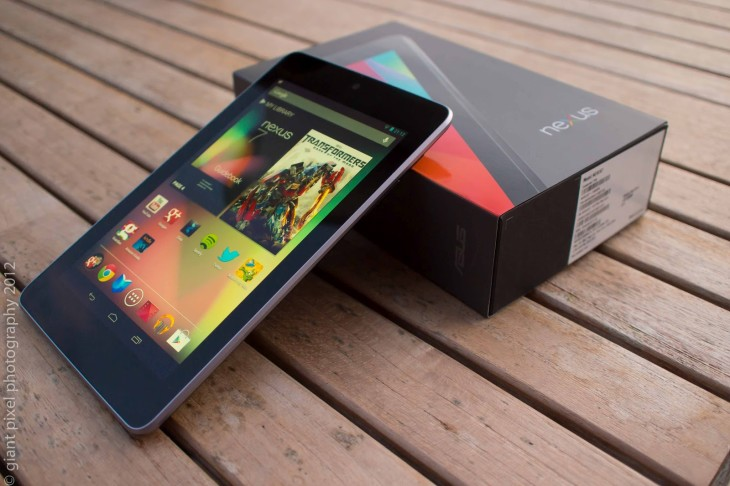 Le nouveau Nexus 7 est déjà disponible sur Google Play