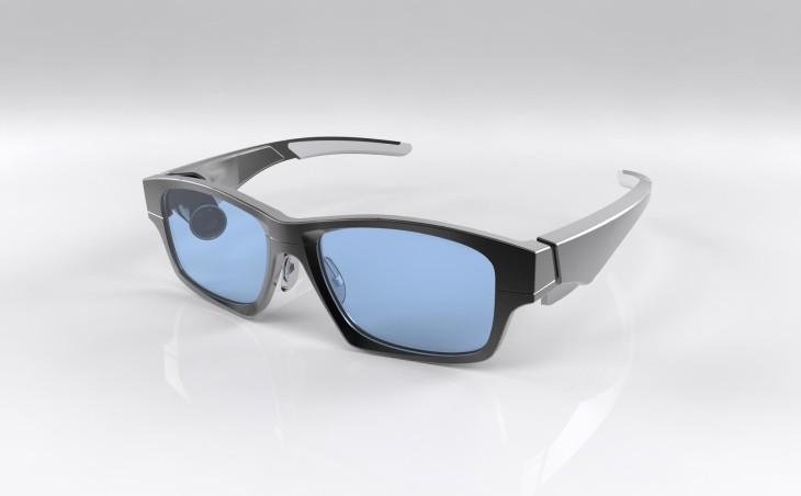 Les lunettes GlassUp pour un deuxième écran pour votre Smartphone