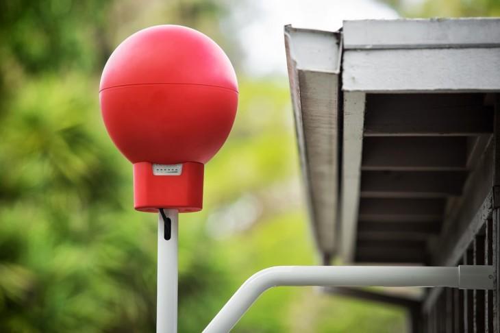 Les ballons internet du projet Loon de Google ont décollés en Californie