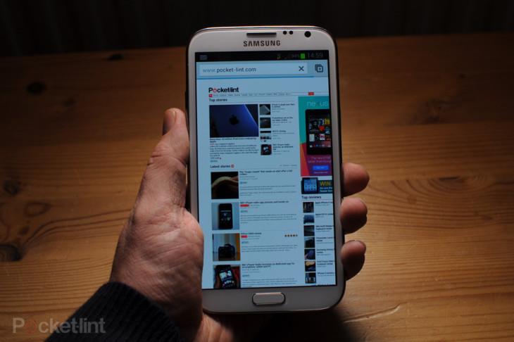 Une fuite d'images sur le Galaxy Note III avec une épaisseur de 2,2 millimètres
