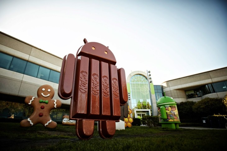 Une vidéo pour le fun d'Android 4.4 Kitkat