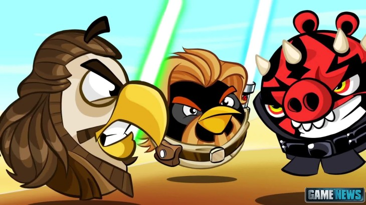 mise jour d 39 angry birds star wars ii avec de nouveaux niveaux et de personnages android. Black Bedroom Furniture Sets. Home Design Ideas