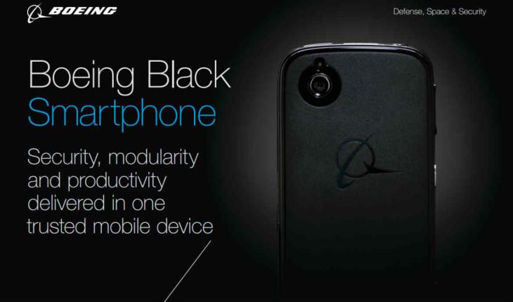 Le Smartphone Black de Boeing passe le FCC
