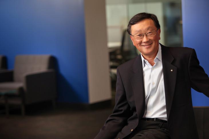 Le CEO de Blackberry a déclaré qu'il serait content d'avoir 19 milliards de dollars pour BBM