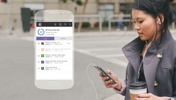 Une mise à jour de BitTorrent pour Android améliore le téléchargement
