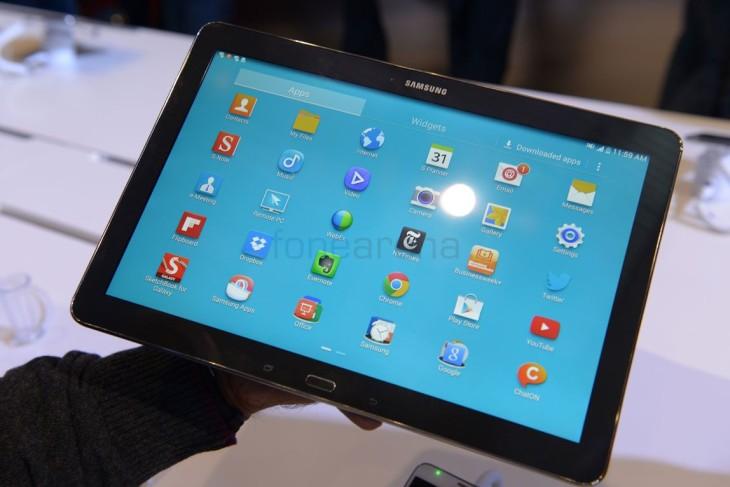 La Samsung Galaxy Tab Pro 12.2 sera disponible le 9 mars