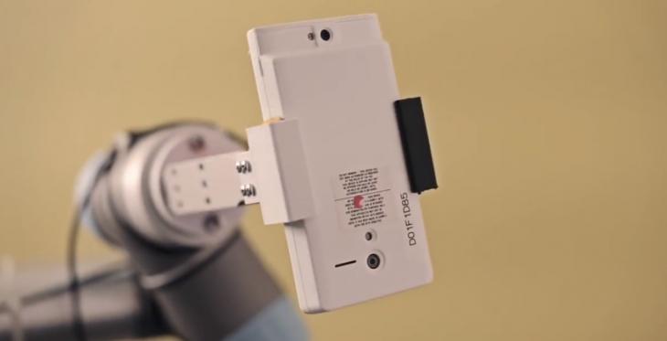 Projet Tango : une fuite sur l'appareil photo du Smartphone avec l'imagerie 3D
