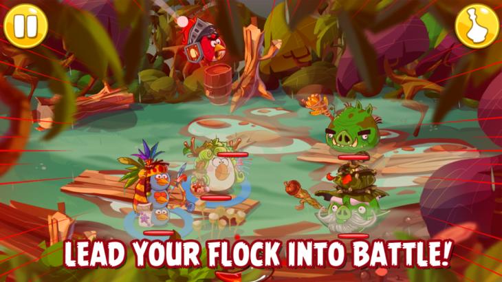 Angry Bird Epic sera un RPG tour par tour
