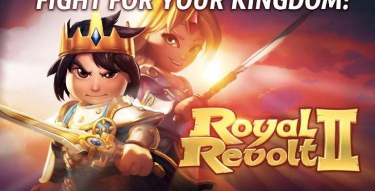 Royal Revolt 2 débarque sur Android !
