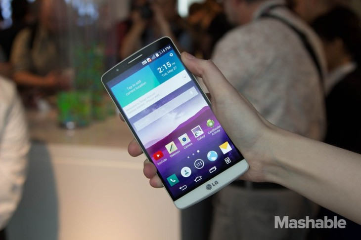 Le LG G3 nous montre une nouvelle interface d'utilisateur