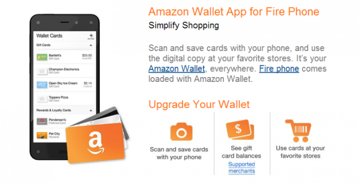 Amazon publie l'application Wallet en version bêta