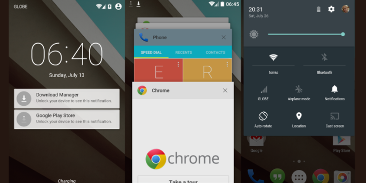 5 choses qu'on aime et qu'on déteste dans Android L Preview