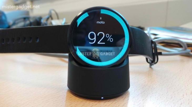 La Moto 360 1er génération va recevoir Android Wear Marshmallow