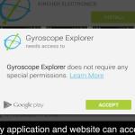 Des chercheurs révèlent que le gyroscope de votre Smartphone peut vous espionner