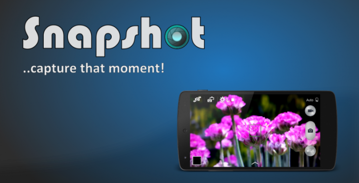 L'application Snapshot active votre APN à partir de l'écran de verrouillage