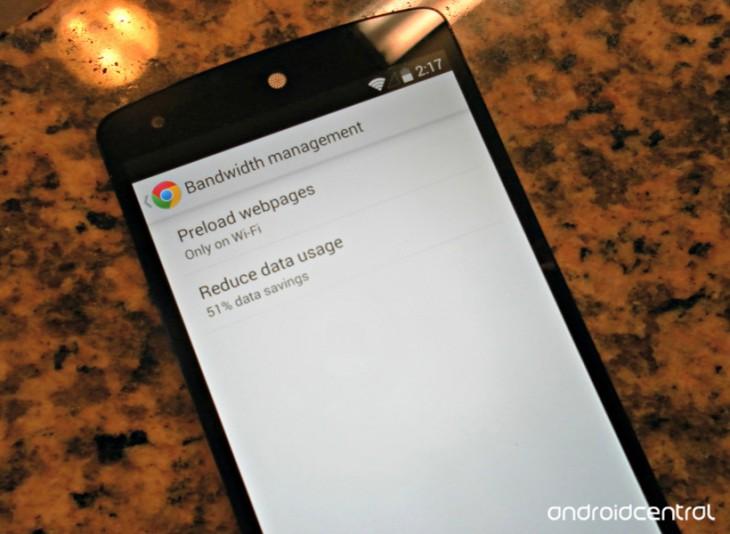 Comment économiser la consommation de données sur Google Chrome