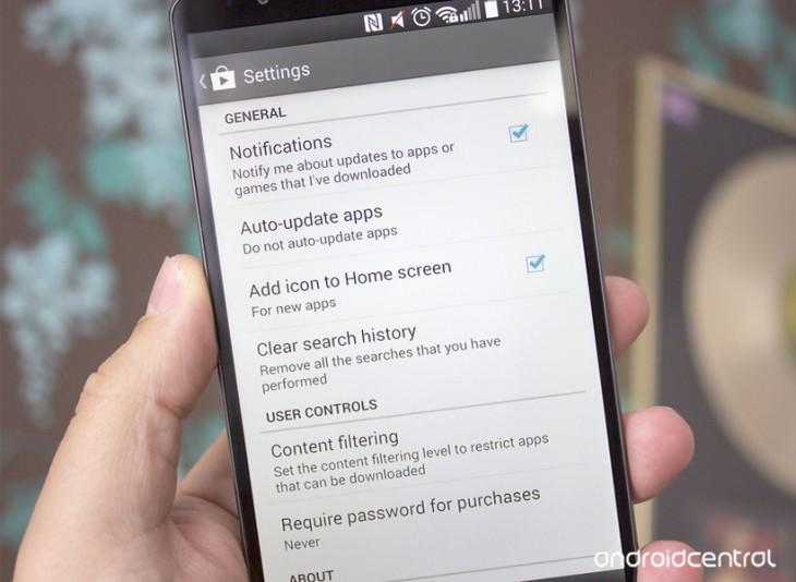 Désactiver l'ajout d'icônes sur l'écran d'accueil à chaque installation d'une application Android