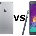 Comparatif IPhone 6 Plus  et Galaxy Note 4