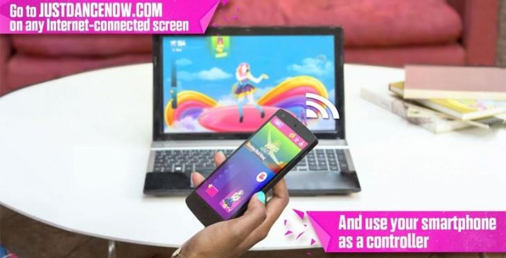Just Dance Now permet désormais d'utiliser un Smartphone Android comme une manette de jeu