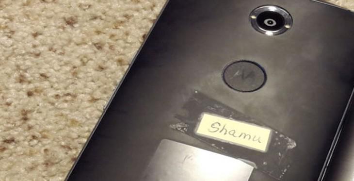 Une fuite sur une possible façade arrière du Motorola Nexus