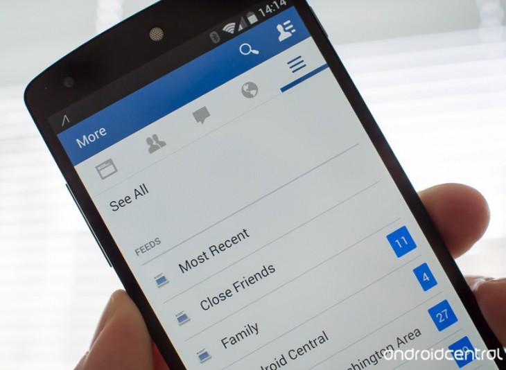 Comment afficher le flux le plus récent sur la nouvelle application Facebook