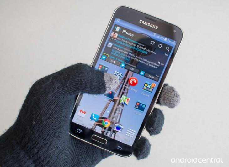 Comment augmenter la sensibilité tactile sur le Galaxy S5 pour l'utiliser avec des gants
