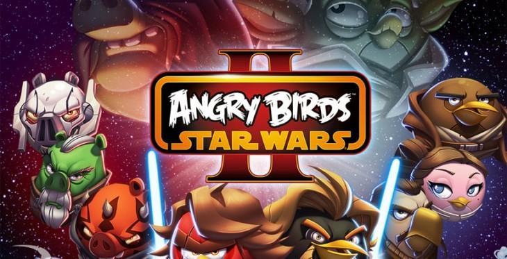 Une mise à jour d'Angry Birds Star Wars II propose de nouveaux niveaux
