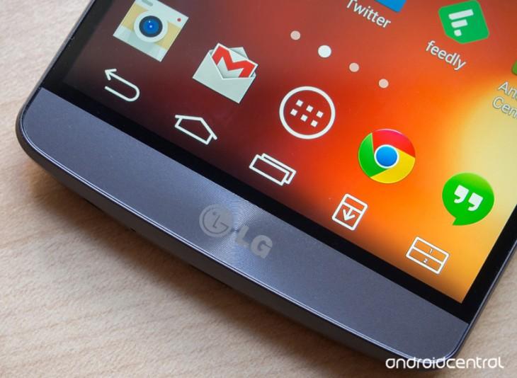 Comment personnaliser les boutons sur l'écran du LG G3