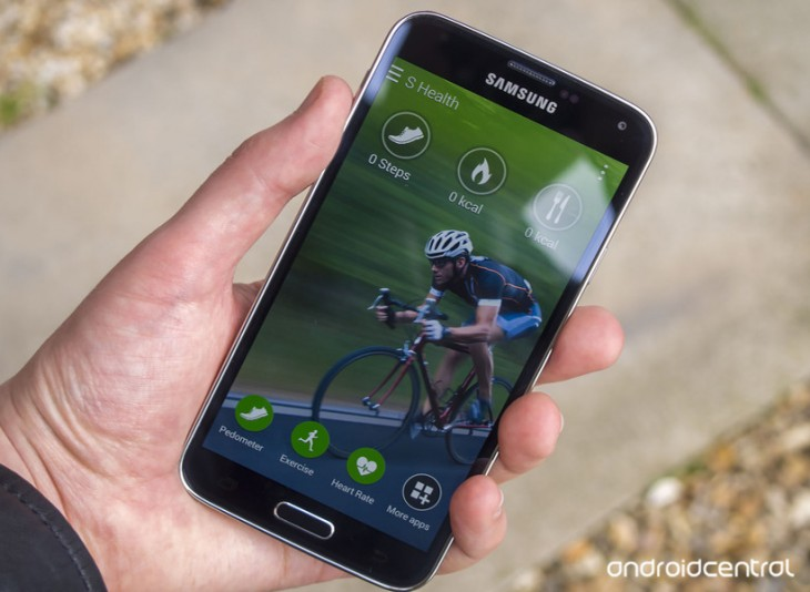 Utiliser l'application S Health sur le Galaxy S