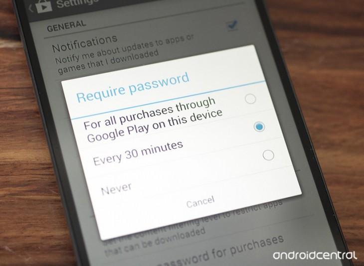 Comment empêcher vos enfants d'acheter sur Google Play avec votre compte